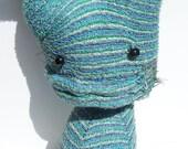 Little Blue Sock Monster