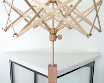 Stanwood Needlecraft - Wooden Swift Yarn Winder Umbrella Style, Medium Size