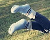 SALE 20 % Aqua Sport - Knitted Women's Socks EU 39/40  US 8,5/9/9,5