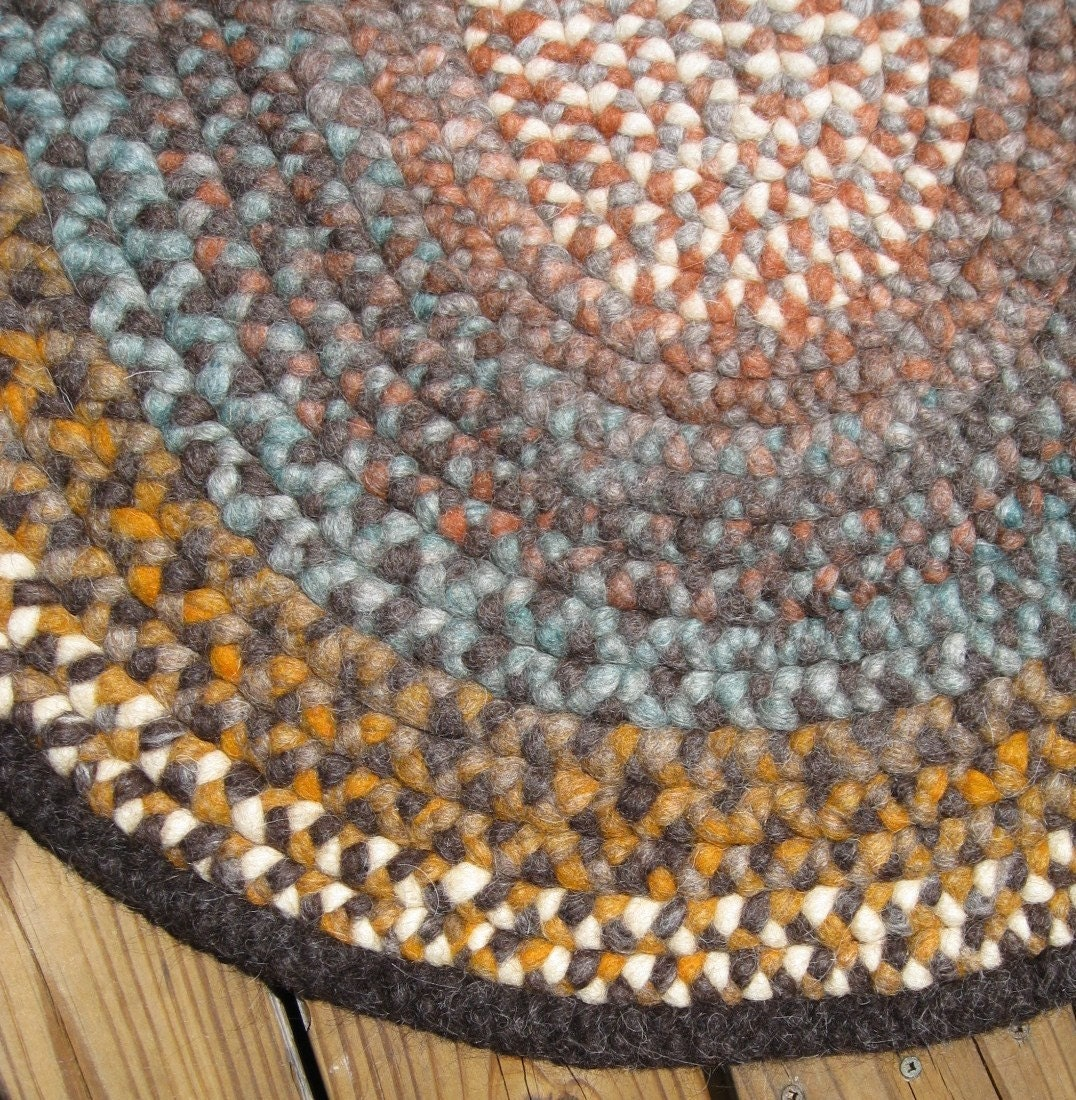 Braided Rug Southwestern Sunset