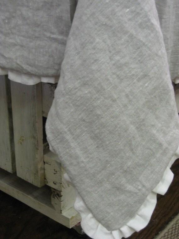Washed Linen Duvet and Euro Sham-Single Bed Size