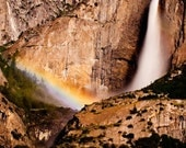 SALE: Lunar Rainbow over Yosemite Falls - Mounted 16x24