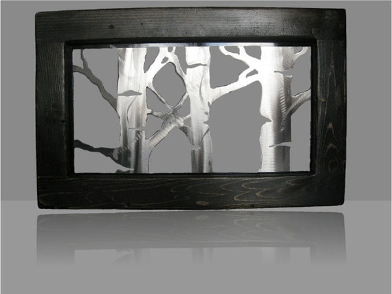 Brushed Aspen-Framed