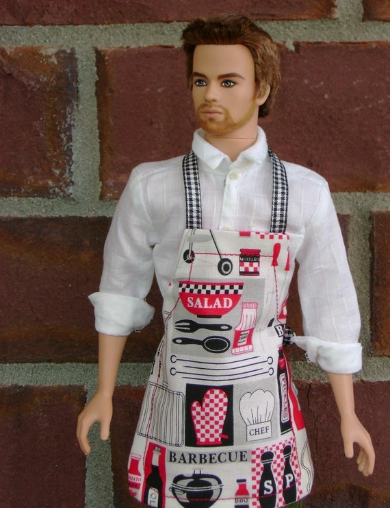 BARBECUE APRON - KEN