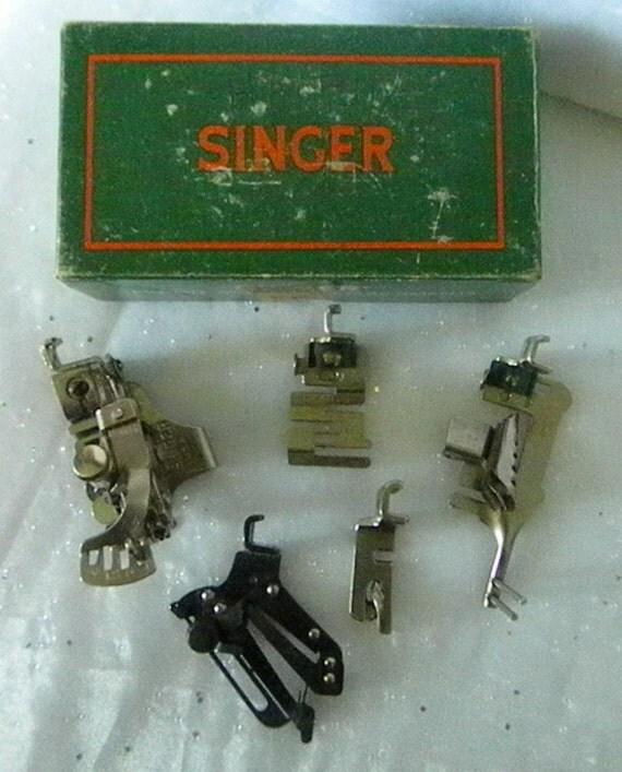 Singer Sewing Machine Attachments no.160809
