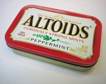MintyBoost USB Phone / Gadget Charger in a Peppermint Altoids Tin