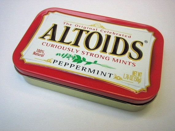 MintyBoost USB Gadget Charger in a Peppermint Altoids Tin