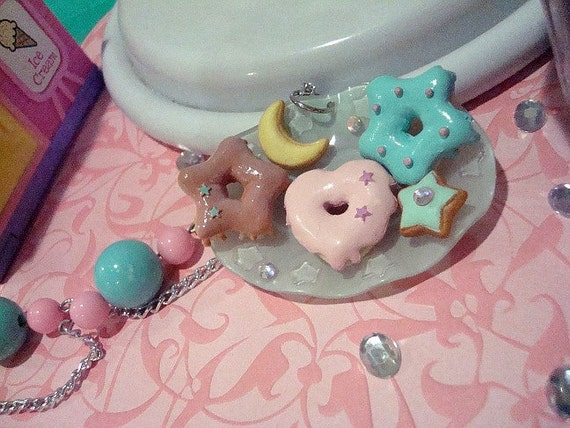 Star Sweets Plate Necklace