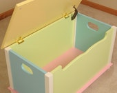 SHIPS TODAY Pastel Toy Box