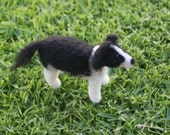 Needle Felted Border Collie
