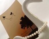 Knotty Birds Save-the-Date Custom Wedding Stationery Deposit