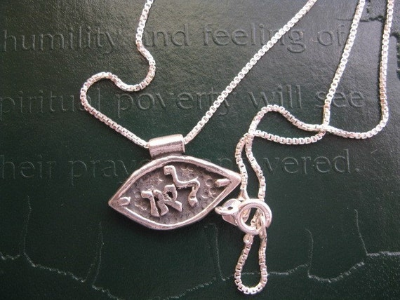 Kabbalah Good Luck  Pendant Spiritual Necklace Mystical