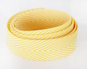 Chevron Ribbon - Yellow