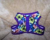 Purple Hybiscus Soft Harness