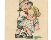 1915 Vintage Postcard Artist Signed C. Twelvetrees Kiddo Love Valentine