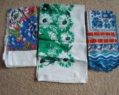 3 Vintage Scarves unused condition