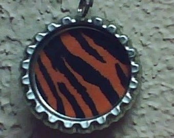 Wild Tiger Stripe pendant necklace jewelry
