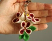 SALE Flower Key Chain