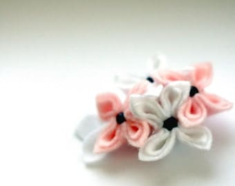 Magnolia, Soft Flower Brooch