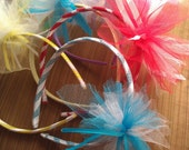 Candy Stripe Headband Party Pack Includes 20 Embellished Headbands
