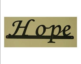 Inspirational Words - Hope Sign