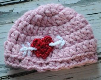 3 - 6 mo. Cupid Hat