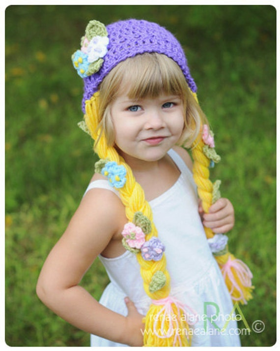 Made to order only - Rapunzel Toddler Hat - do not purchase this listing