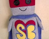 Robot Stuffed Animal: Clark Superbot