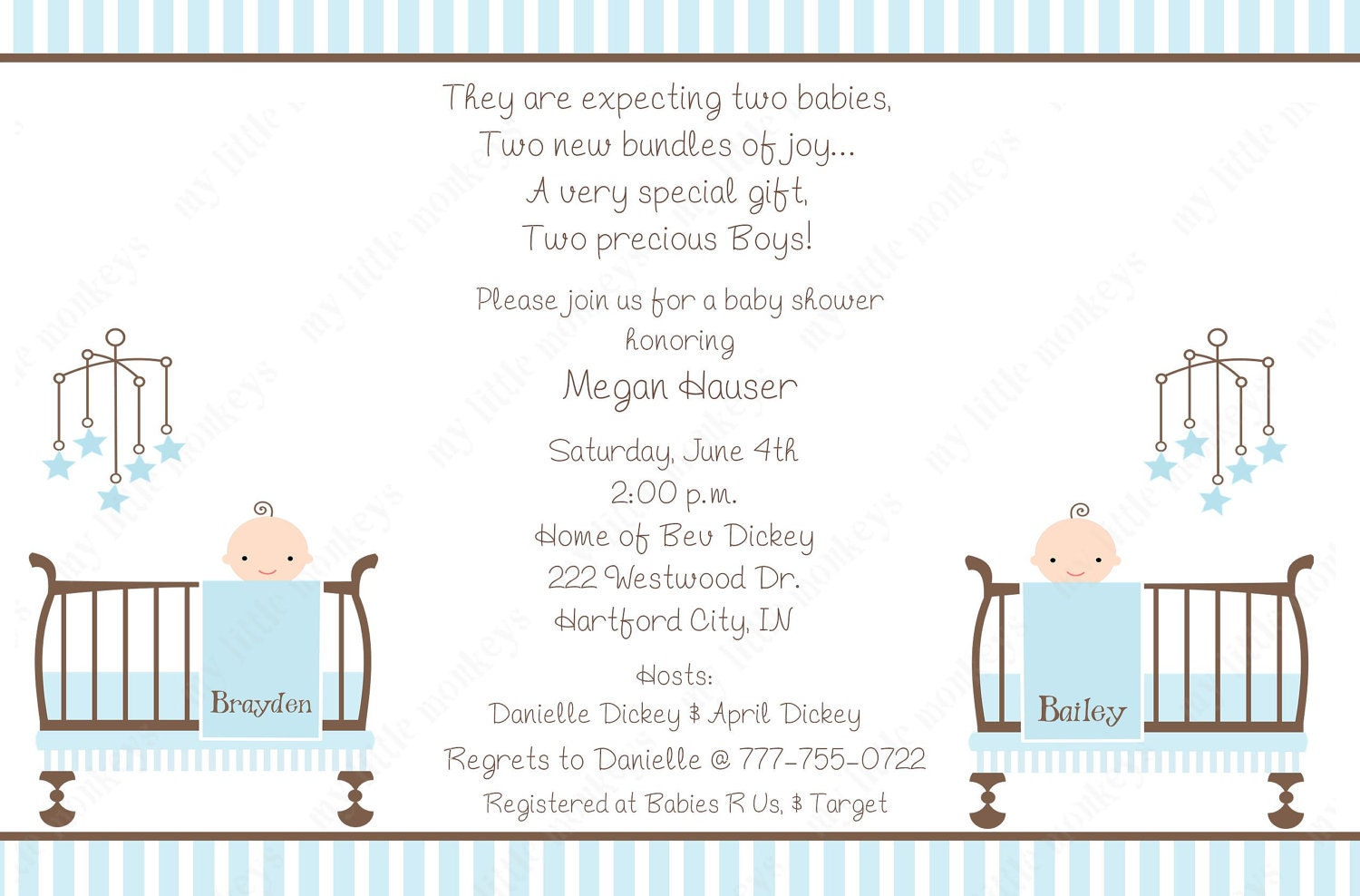 Boy Baby Shower Invitation Poems for good invitation layout