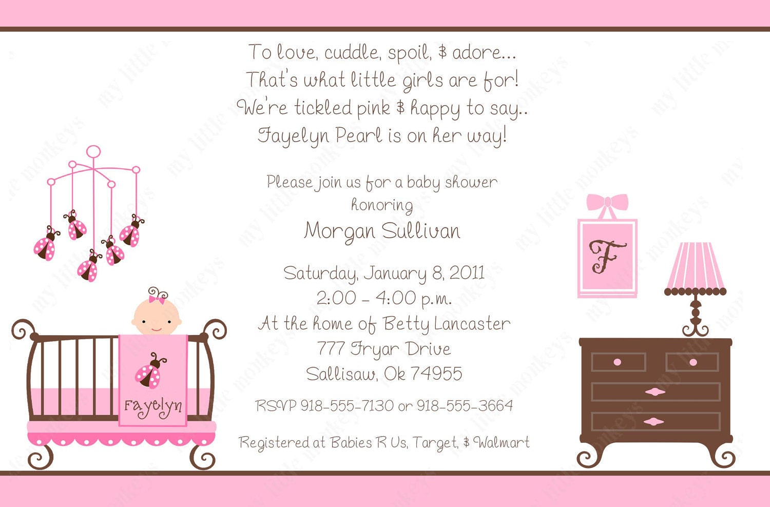 Invitation Wording For Baby Shower for amazing invitations example