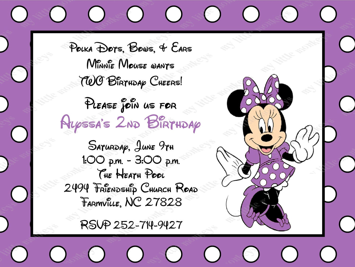 Baby Minnie Mouse Baby Shower Invitations for awesome invitation ideas