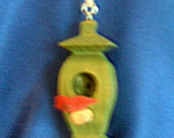 Ornament Bird House: The Hideaway