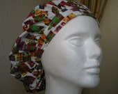 Plenty of Presents - Bouffant Tie-back Surgical Scrub Hat