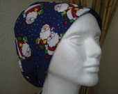 Hey Santa - Tie-back Surgical Scrub Hat