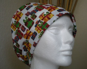 Plenty of Presents - Tie-back Surgical Scrub Hat