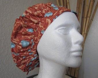 Pompei - Bouffant Tie-back Surgical Scrub Hat