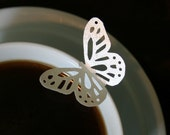 200 Edible Elegant Monarch Butterflies, your choice of Gold, Silver or Pearl
