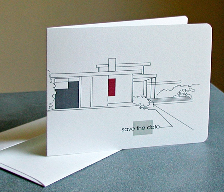 Your Choice Custom Modern Architecture Cards Moving Calling