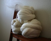 BFL  wool roving, spinning fiber felt making fiber 6oz CLOSEOUT