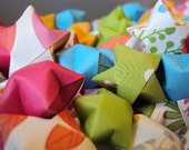 Reach for the Stars Origami Wishing Stars with inspirational messages