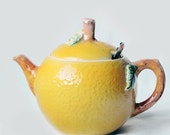 Vintage Lemon Teapot Honey Pot