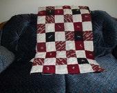 OU print Handmade Quilt