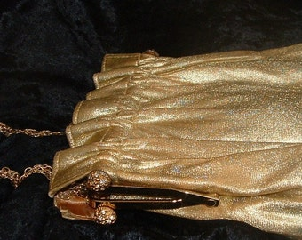 1960s Gold LAME Bag by ANDE.