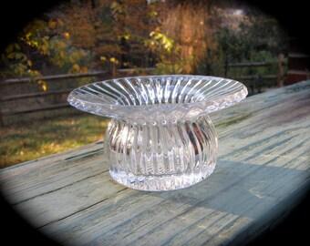 1930 Pressed GlassPansy Bowl.