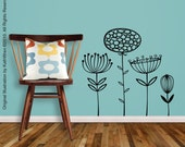 BRAND NEW - Wildflowers - Vinyl Wall Decal