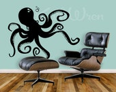Octopus by KathWren - Original Vinyl Wall Decal