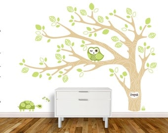 NEW - Owl Tree by KathWren - personalization