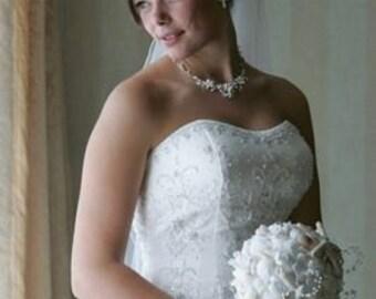 Seashell Bouquets - Beach Wedding Gorgeous