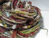 RESERVED for Pea Handspun Art Yarn Sheeping Beauties 'Crazy Quilt'
