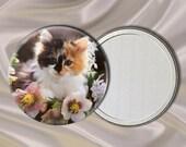 Cute Kitten Pocket Mirror